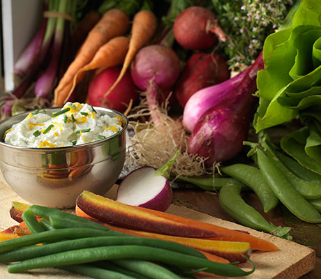 lemon herb ricotta dip recipe