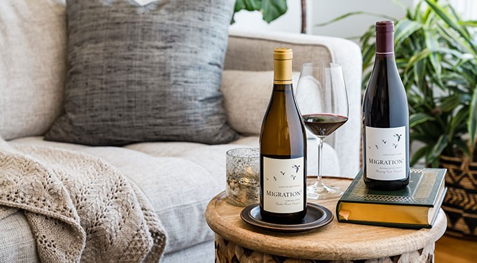 Migration wines in the living room