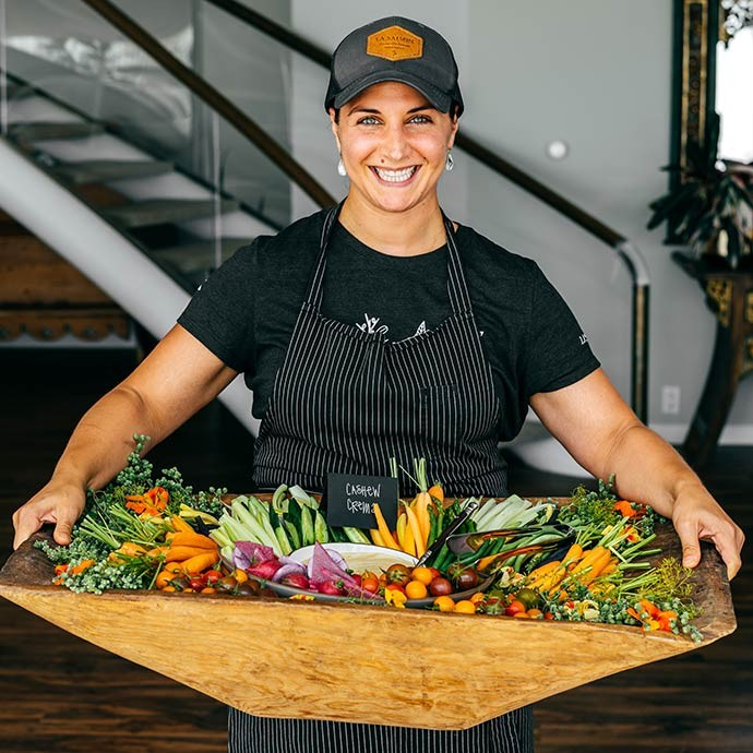 Chef Natalie Niksa of La Saison, Napa Valley